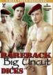 Bareback Big Uncut Dicks DVD - Front