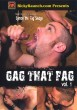 Gag that Fag volume 1 DVD - Front