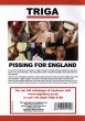 Pissing for England DVD - Back