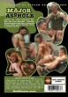 Major Asshole DVD - Back