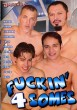 Fuckin' 4 Somes DVD - Front