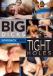 Big Dicks Tight Holes DVD - Front