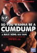 So You Wanna Be A Cumdump DVD - Front