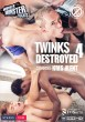 Twinks Destroyed 4 DVD - Front