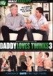 Daddy Loves Twinks 3 DVD - Front
