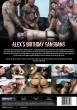 Alex's Birthday Gangbang DVD - Back