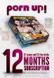 Porn Up 12 Month Subscription - Front