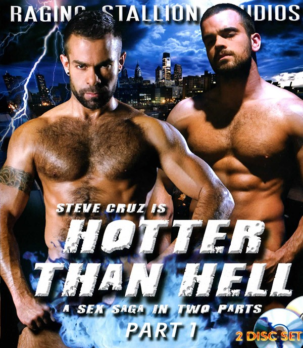Hotter than Hell part 1 BLU-RAY - Front