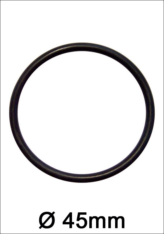 Rubber Cock Ring 45mm - Front