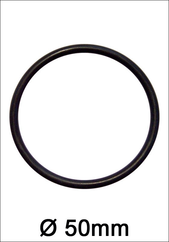 Rubber Cock Ring 50mm - Front
