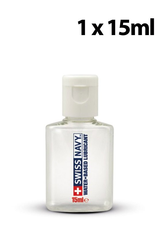Swiss Navy Water Based Lubricant 20ml - Back
