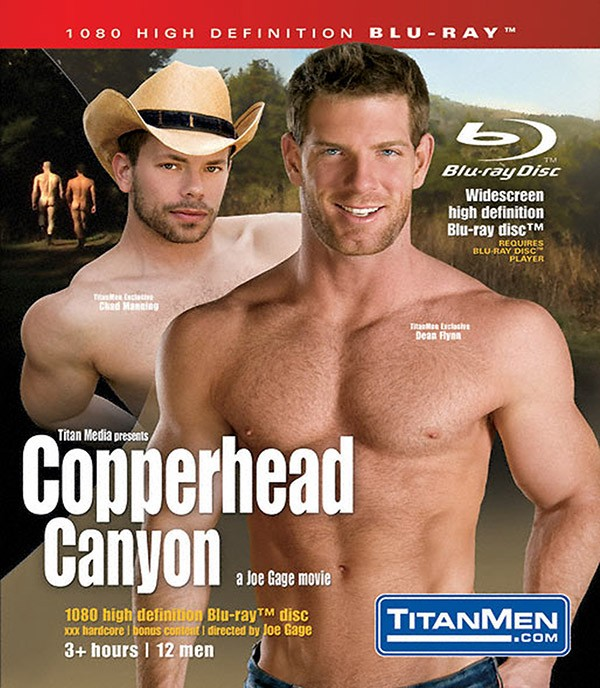 Copperhead Canyon BLU-RAY - Front