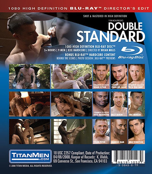Double Standard BLU-RAY - Back
