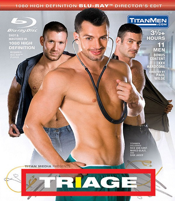 Triage BLU-RAY - Front