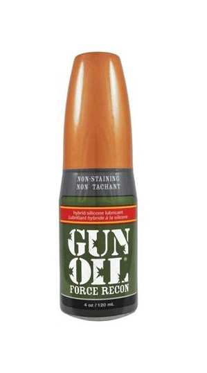 Gun Oil Force Recon 120ml - Front