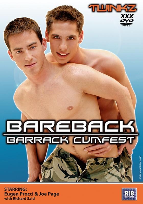 Bareback Barrack Cumfest DOWNLOAD - Front
