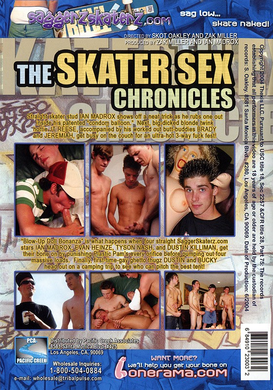 The Skater Sex Chronicles DOWNLOAD - Back