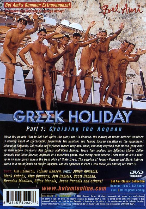 Greek Holiday 1: Cruising the Aegean DVD - Back
