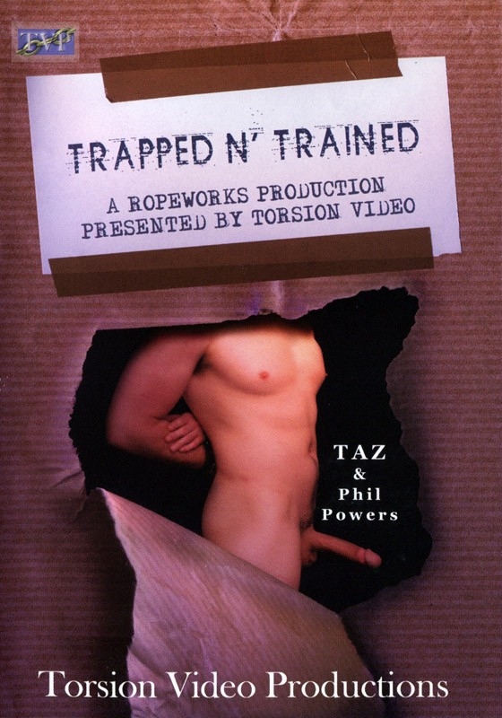 Trapped N' Trained DVD - Front