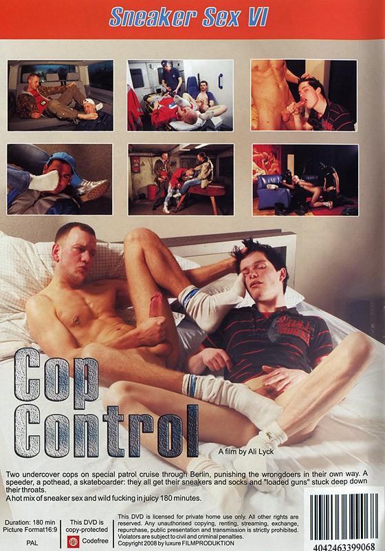 Sneaker Sex VI: Cop Control DOWNLOAD - Back