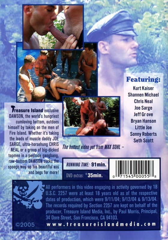 Meat Rack DVD - Back