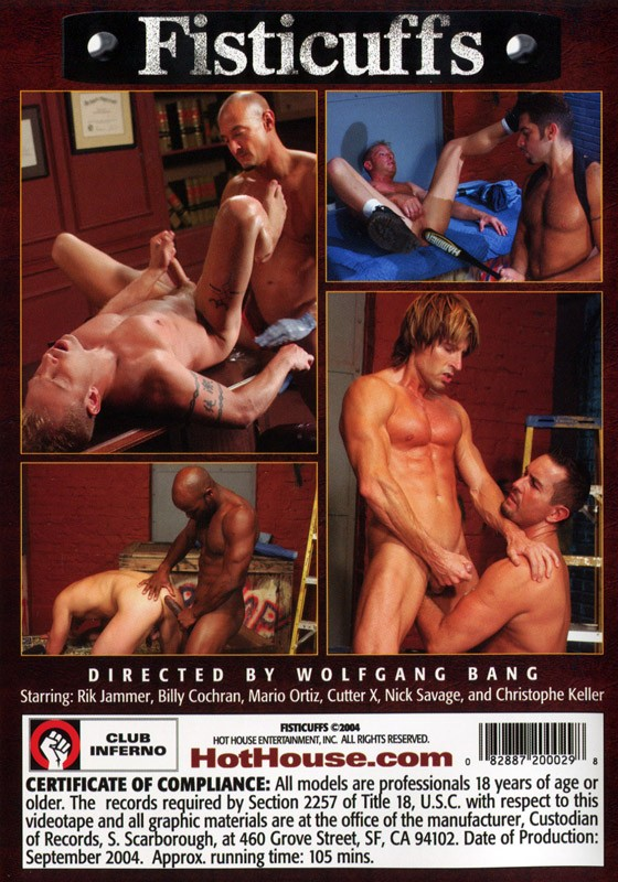Fisticuffs DVD - Back