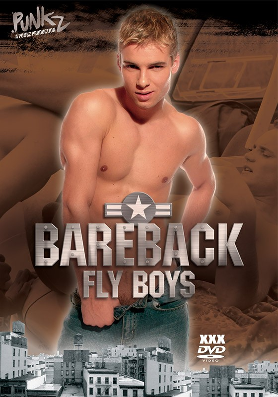 Bareback Fly Boys DVD - Front