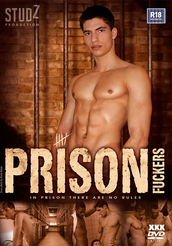 Prison Fuckers DVD - Front