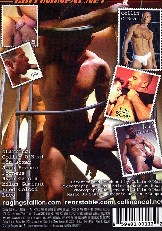 Collin O'Neal's London DVD - Back