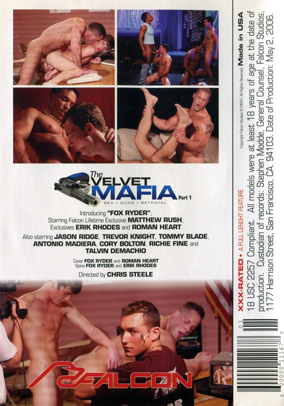 The Velvet Mafia Part 1 DVD - Back