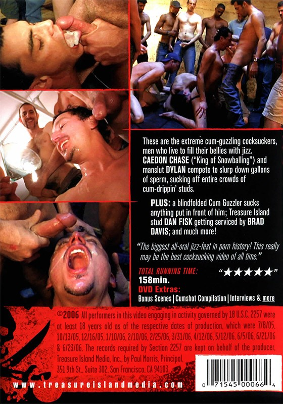 Drunk on Cum 3 DVD - Back