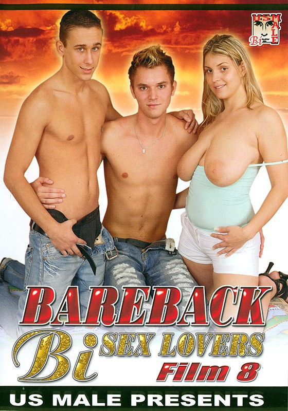 Bareback Bi Sex Lovers #8 DVD - Front
