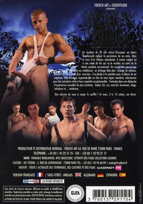 Tentations de Sodome DVD - Back