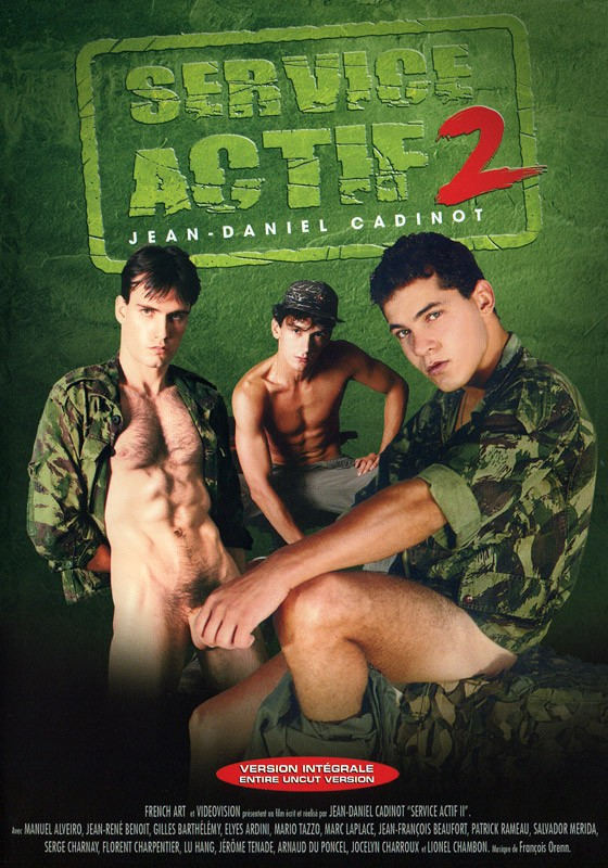 Service Actif 2 DVD - Front