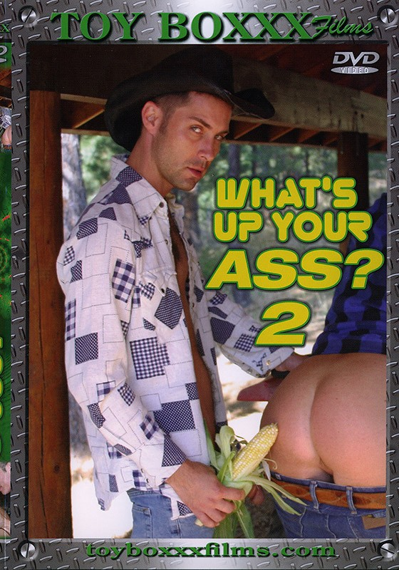 What's Up Your Ass? 2 DVD - Front