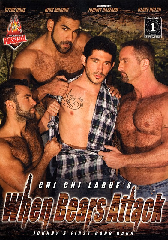 When Bears Attack DVD - Front