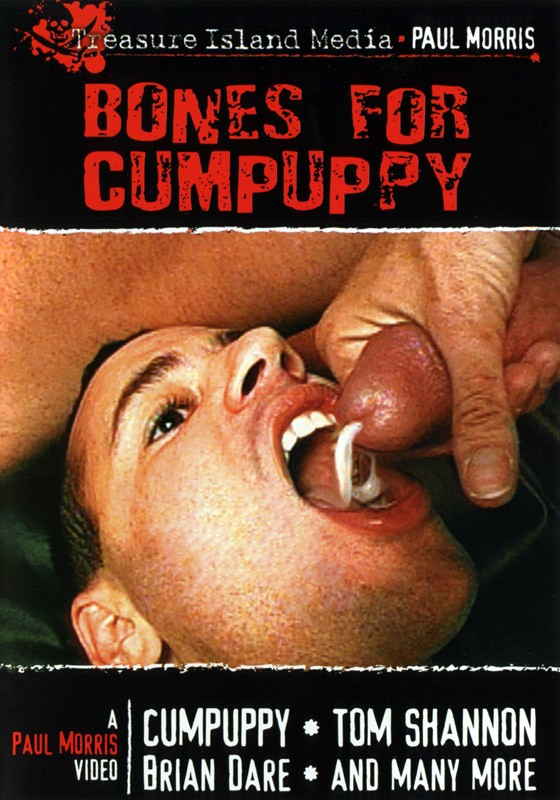 Bones for Cumpuppy DVD - Front