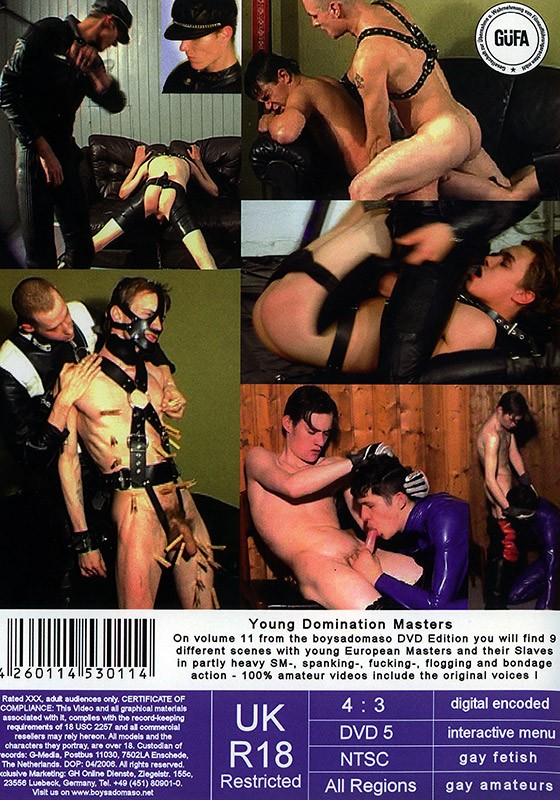 Young Domination Masters DVD - Back
