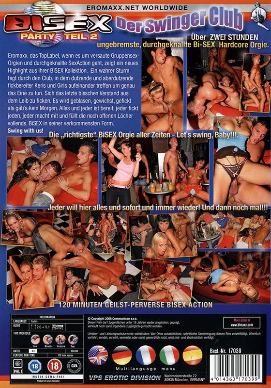 Bi Sex Party 2: Der Swinger Club DVD - Back
