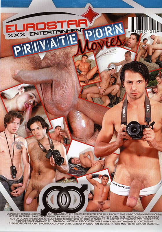 Private Porn Movies DVD - Back