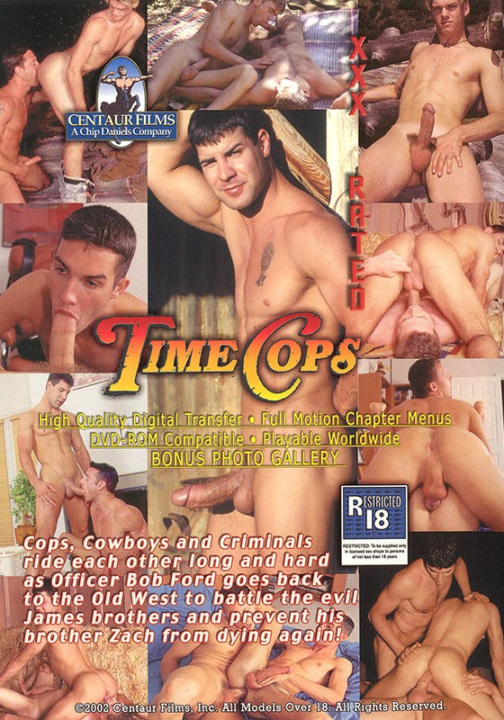 Time Cops DVD - Back