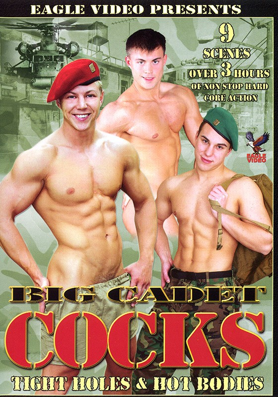 Big Cadet Cocks DVD - Front