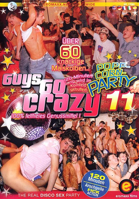 Guys Go Crazy 11: Poppcorn Party DVD - Front
