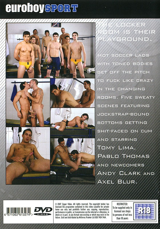 Soccer Lads 2 DVD - Back