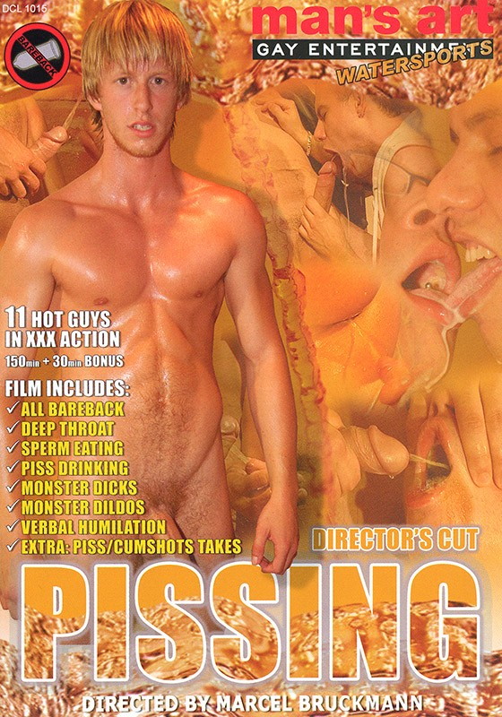 Pissing (Man's Art) DVD - Front