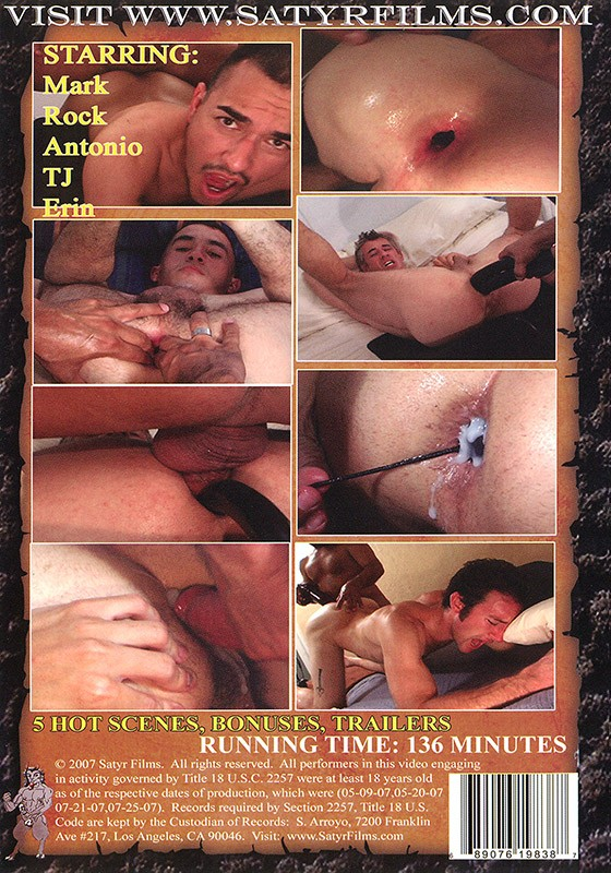 Cum Filled Manholes DVD - Back