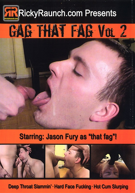 Gag that Fag volume 2 DVD - Front