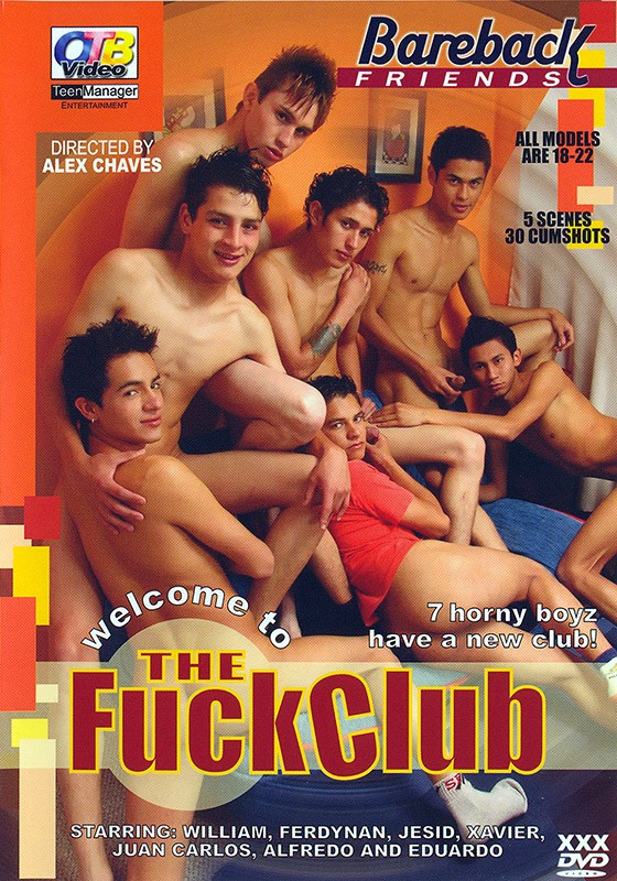 The Fuck Club (OTB) DVD - Front