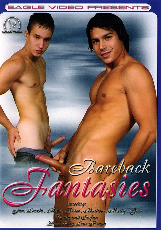 Bareback Fantasies DVD - Front