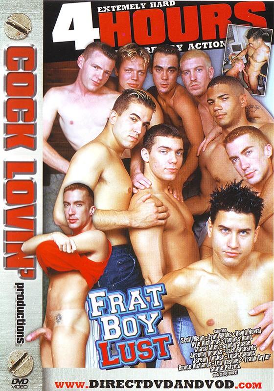 Frat Boy Lust DVD - Front